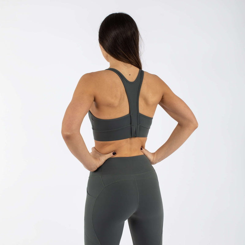 Versa Forma | Fika Sports Bra - Shadow