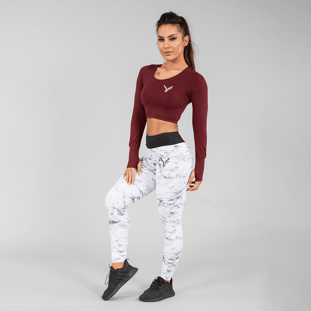 Versa Forma | Forma Crop Top - Plum