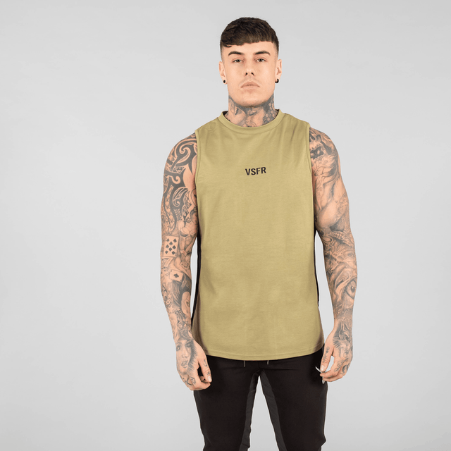 Versa Forma | Booksar Vented Tank - Olive
