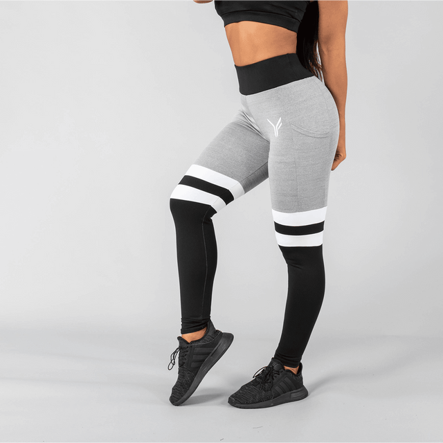 Versa Forma | Vivekk Leggings - Black/Grey