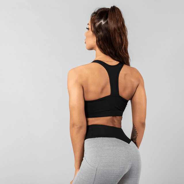 Versa Forma | Vivekk Sports Bra - Black/Grey