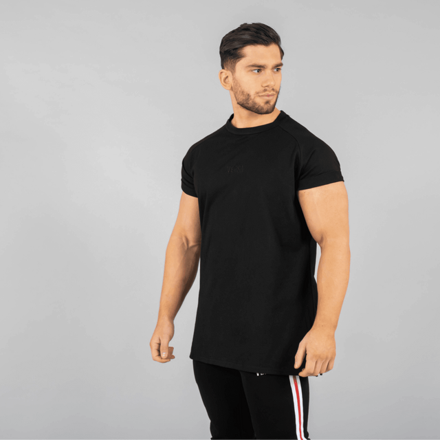 Versa Forma | Vendor Oversized Tee - Black