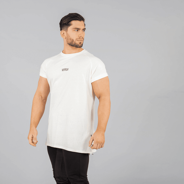 Versa Forma | Vendor Oversized Tee - French Vanilla