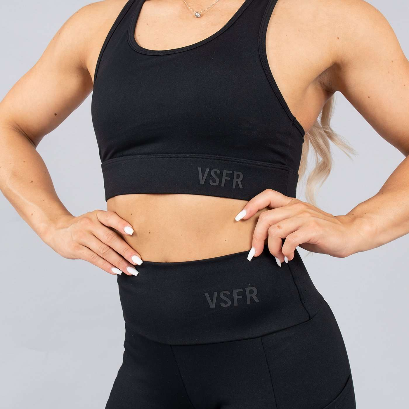 Versa Forma | Mode Crop Bra in Noir