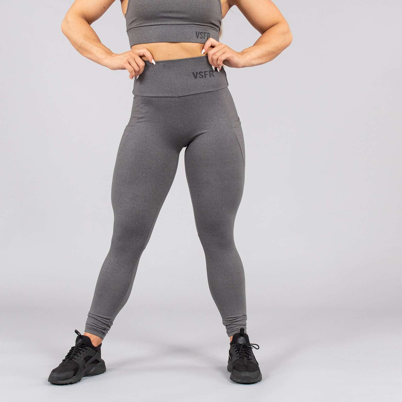 Versa Forma | Mode Leggings - Falcon Grey