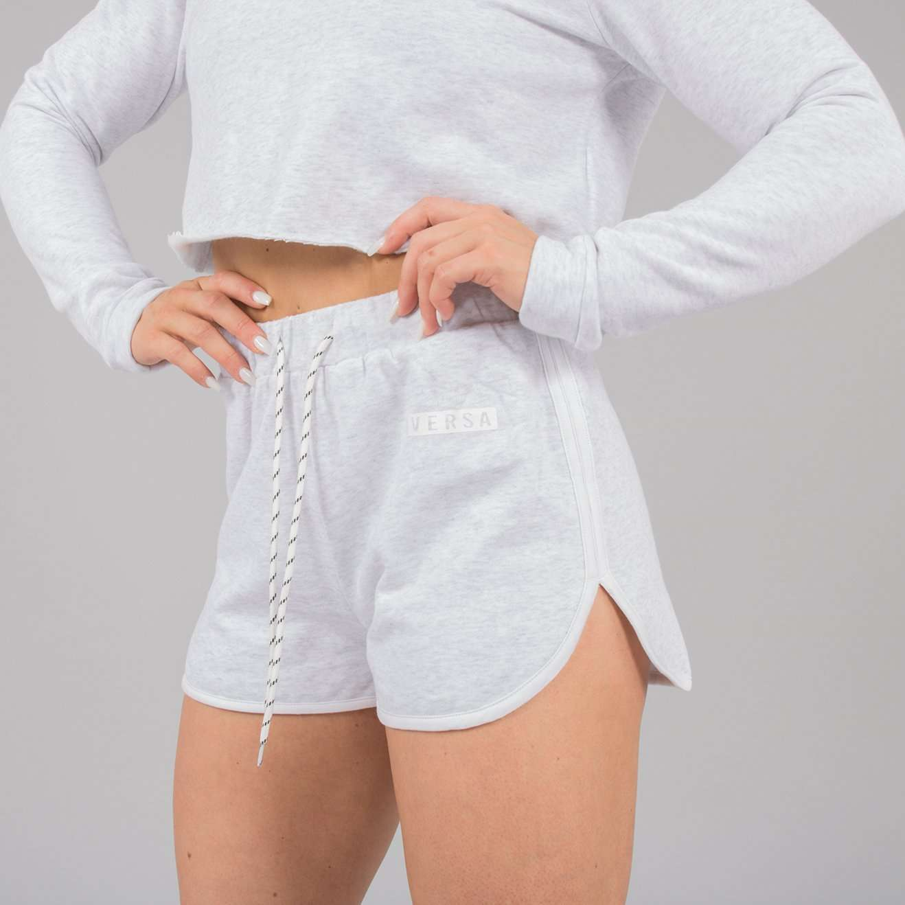 Versa Forma | Nao Shorts - White Heather