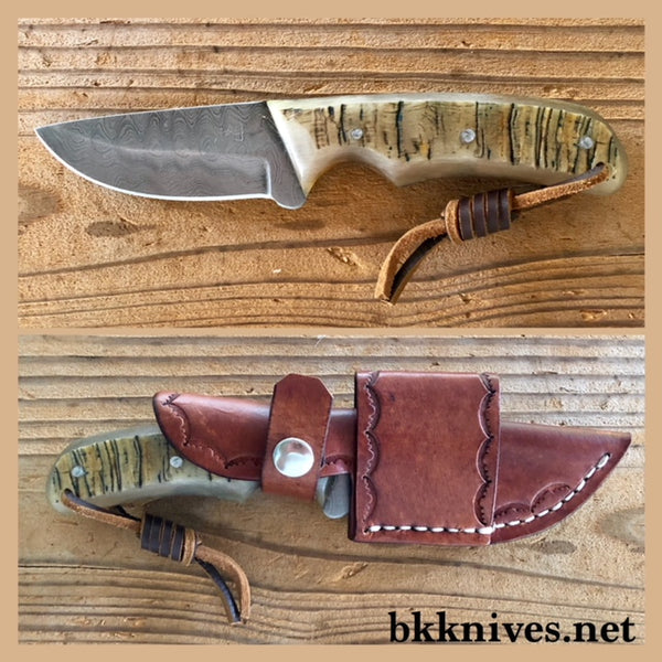 "7-1/2"" Damascus Knife"
