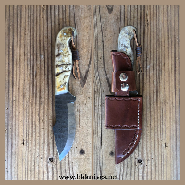 "9-3/4"" Damascus Bowie"