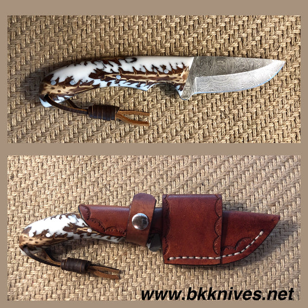 "7 & 1/2"" Damascus Knife"