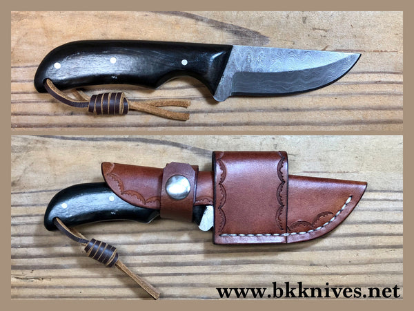 "6-3/4"" Damascus Knife"