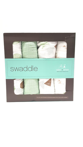 Aden + Anais Classic Swaddle Blanket 4 Pack