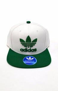Adidas Green White Snapback Hat Originals Thrasher buymi