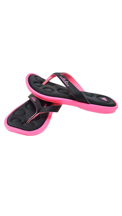 Adidas FM Truvi K Black Hot Pink Slipper Flip Flop Youth buymi