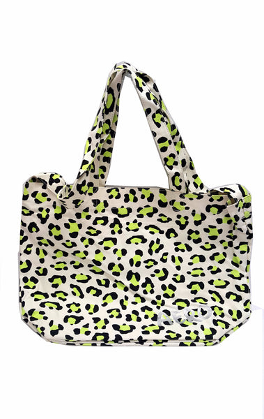 Aeropostale Aero Graffiti Animal Print Tote Canvas Bag