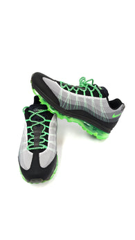 Nike Air Max 95 DYN FW Men's Size 10.5 Black Grey Poison Green 554715-030 buymi