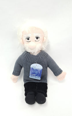 Little Thinker ALBERT EINSTEIN Plush Doll Unemployed Philosophers Guild buymi