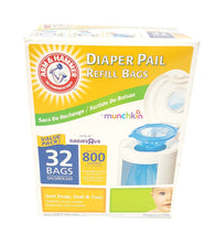 Arm & Hammer by Munchkins Diaper Pail Refills 32 buymi