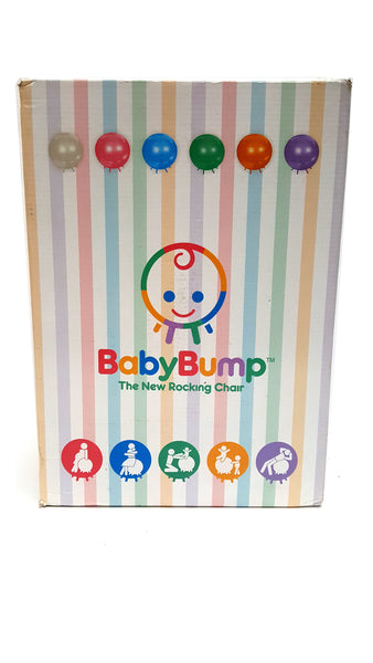 Baby Bump Birth Ball with Base Legs Beeswax buymi