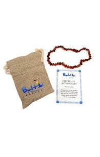 Baltic Amber Teething Necklace for Babies Honey buymi