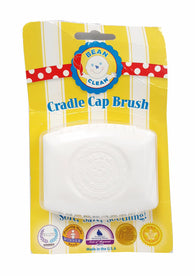 Bean B Clean Baby Scalp Massaging Brush for Cradle Cap White buymi