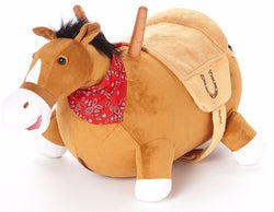 Bouncy Horse Soft Plush Ride on Inflatable Stuffed Hopper Horse WALIKI TOYS buymi
