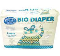 Bumboodle Natural Compostable Bio Diapers Large 17.5-29lbs 28-Count buymi