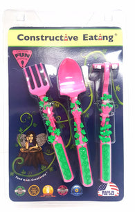 Constructive Eating Set of Garden Utensils