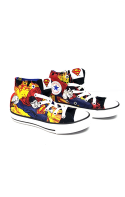 Converse All Star Hi Chuck Taylor Superman Youth buymi
