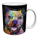 Dean Russo Dog Pit Bulls Steal Your Heart 11 oz
