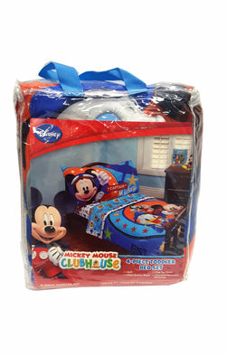 Disney Jr. Mickey Mouse 4 Piece Toddler Bed Set buymi
