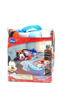 Disney Mickey Mouse 4 pc Toddler Comforter Bedding Sheet Set buymi
