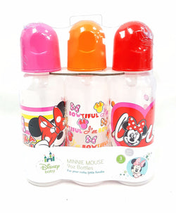 Disney Minnie Mouse Infant Baby Bottles 3 Pack 9 oz buymi
