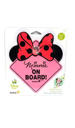 Disney Minnie Mouse On Board Sign Pink buymi