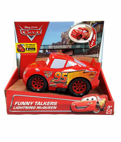Disney Pixar Cars Funny Talkers Lightning McQueen Vehicle buymi