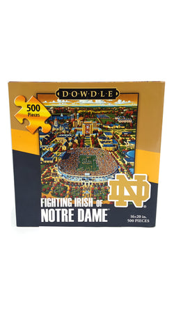 Dowdle Folk Art Fighting Irish of Notre Dame Jigsaw Puzzle buymi
