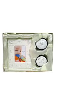 First Tooth and Curl Keepsake Box with Photo Frame buymi