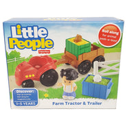 Fisher-Price Little People Farm Tractor & Trailer