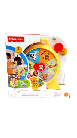 Fisher-Price See 'n Say Talking Game buymi