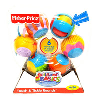 Fisher-Price Sensory Balls Roll a Rounds Touch N Tickle Rounds buymi
