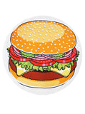 hamburger beach towel terry cloth jumbo buymi