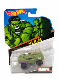 Hot Wheels Character Cars Marvel Hulk #5  DETAILS:  Hot Wheels, Marvel Character Car, Hulk #5 buymi