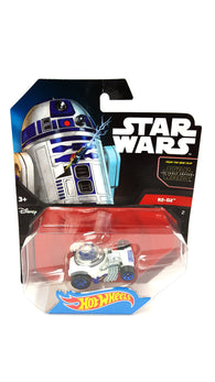 Star Wars R2-D2 Hot Wheels Character Cars White DXP42 buymi