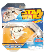 Hot Wheels Star Wars Starship Snowspeeder Orange Vehicle buymi