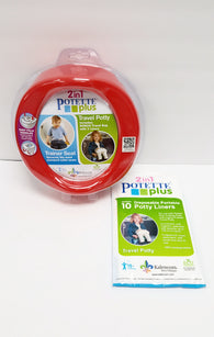 Kalencom 2 in 1 Potette Plus Portable Potty Training Seat Red