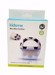 Kidsme Moo Moo Soother Black White Unisex Teether buymi