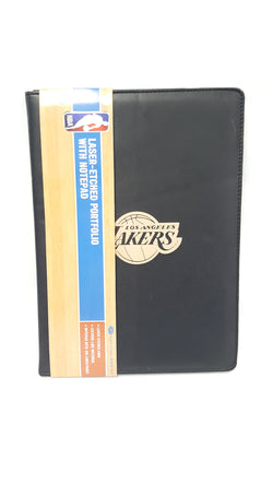 LA Lakers National Design Laser-Etched Hardcover Executive Notebook with Notepad buymi