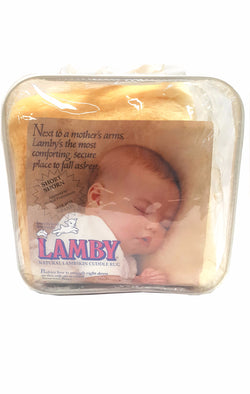 Lamby Lambskin Short Shorn Wool Sleep Pad from Australia buymi