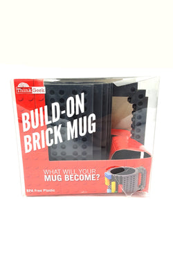 Lego Blocks Unique Gift Build On Brick Tea Coffee Mug Cup BPA Free buymi