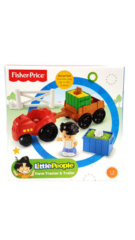 Little People Farm Tractor & Trailer Playset buymi