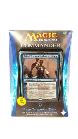 Magic The Gathering Commander 2014 Peer Through Time Deck buymi
